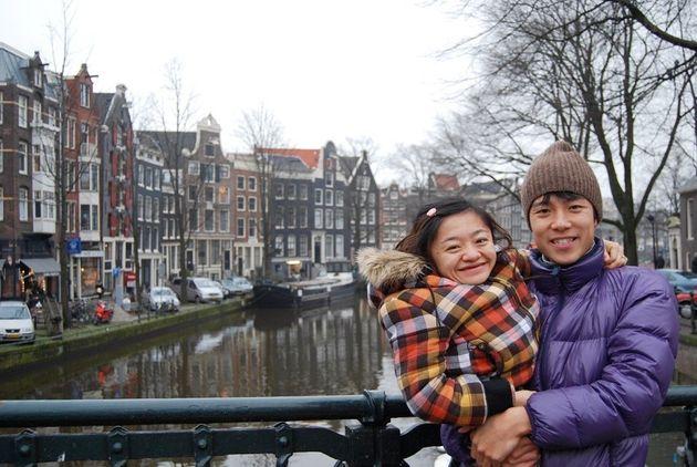 2010年のヨーロッパへ新婚旅行 オランダにて