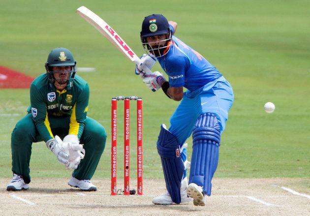 インドと南アフリカの試合