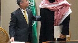 ソフトバンク、サウジアラビアで太陽光発電事業 21兆円規模