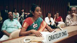 国連でハンセン病の人権問題がテーマとなった。
