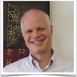 スチュアート・ハリントンさん。「アトラシアン」日本法人社長。スタンフォード大学工学部電気工学科卒業。