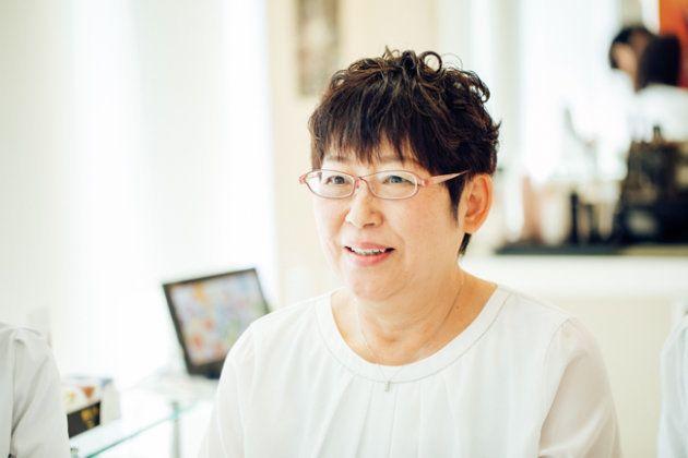 伊藤千津子さん: ポーラのエステティシャンを経て、2008年、ポーラ ザ