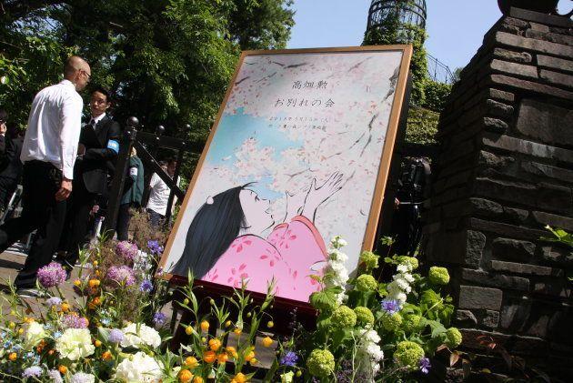 「お別れの会」の会場となった東京・三鷹の森ジブリ美術館(平成30年5月15日)