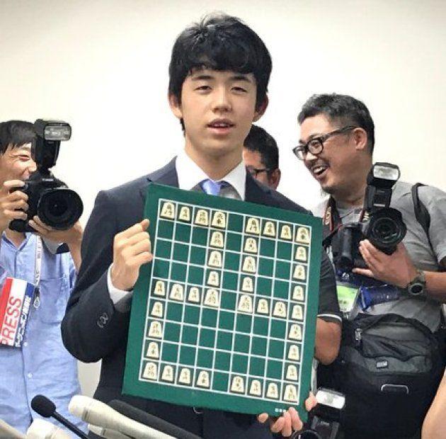 29連勝達成時の藤井四段