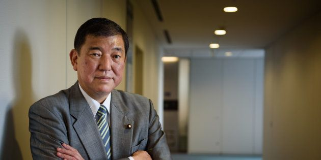 Shigeru Ishiba, Japan's minister in charge of regional revitalization, poses for a photograph in Tokyo,...