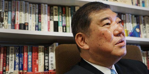 Shigeru Ishiba, a member of the Liberal Democratic Party
