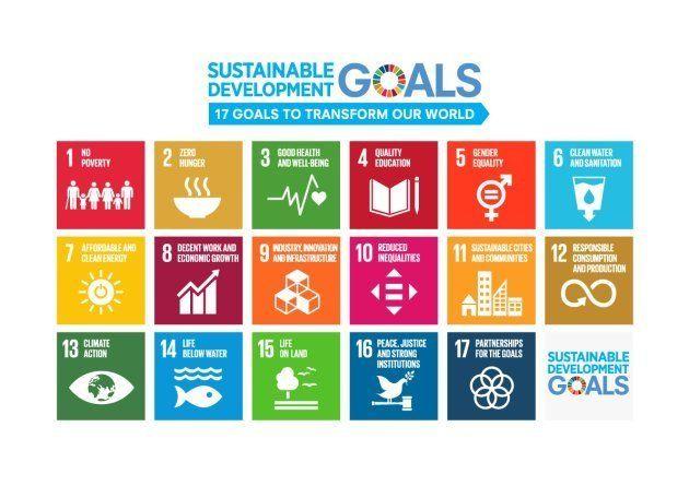 SDGsが掲げる17のゴール