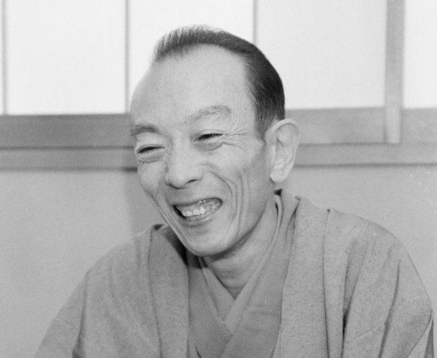 桂歌丸さん(神奈川県横浜市南区) 撮影日:1989年11月30日