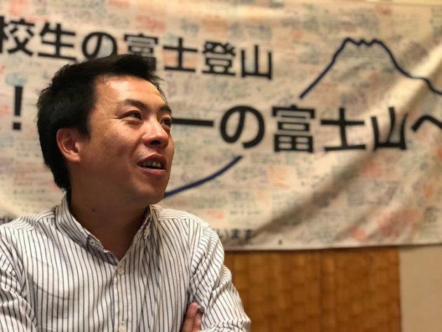 プロジェクトの総隊長を引き継いだ田部井進也さん
