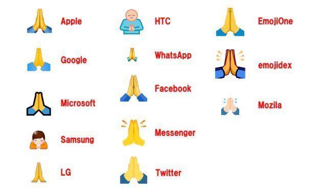 Emojipediaに掲載された情報を元に作成。