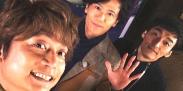 香取慎吾がInstagramに投稿した写真。