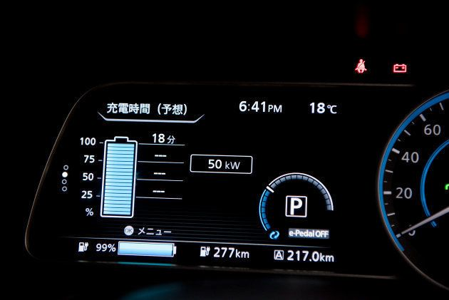 新型日産リーフ【380kmロングドライブインプレッション】不便さを感じなかった充電インフラと、納得いく走行距離
