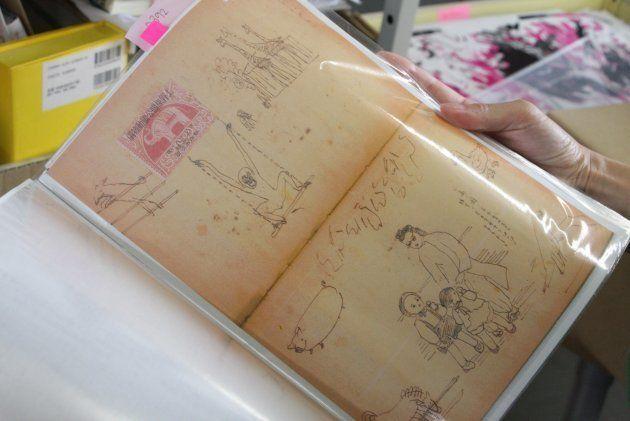 当時描かれたイラストも届いた。