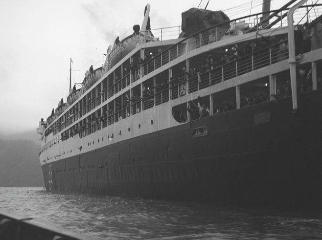 中国からの引揚船「興安丸」