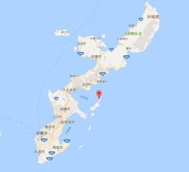 伊計島の位置