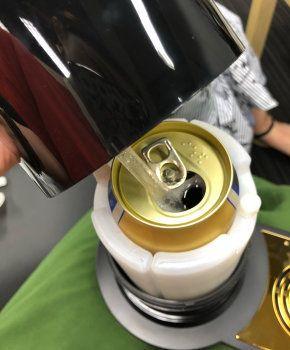 350ml缶、500ml缶、さらには瓶ビールにも対応
