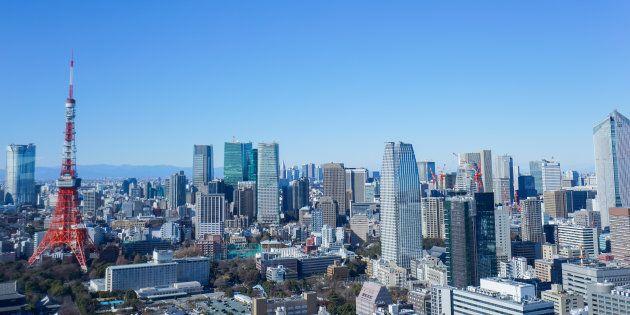 Panoramic view of Tokyo,