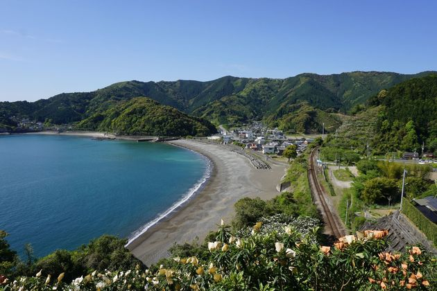 須崎市の安和海岸