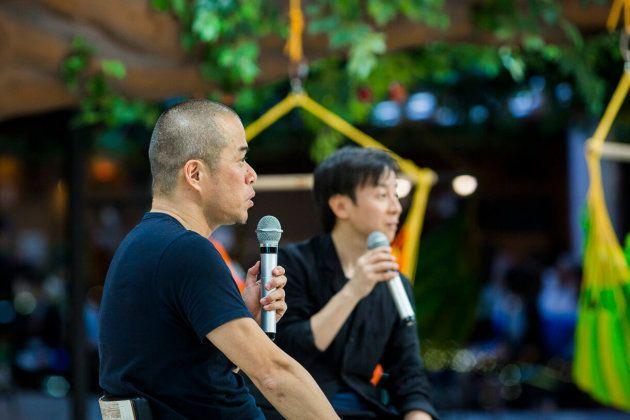 サイボウズ式:日本人は、会社にいる「時間」にこだわりすぎ。「時間=責任」は学校文化の呪縛──田端信太郎×青野慶久