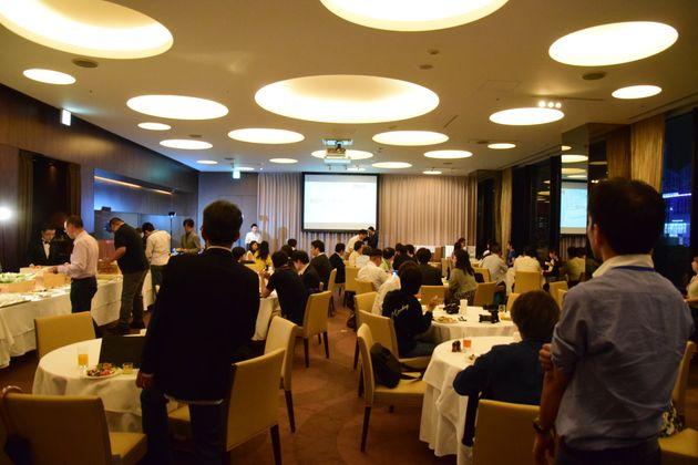 私が参加したのは、6月15日に開催された第4回座談会。会場は銀座の「アイコニック銀座」でした。