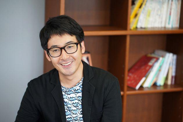 小野邦彦さん(おの・くにひこ)さん。「坂ノ途中」代表。奈良県生まれ。京都大学総合人間学部卒業。
