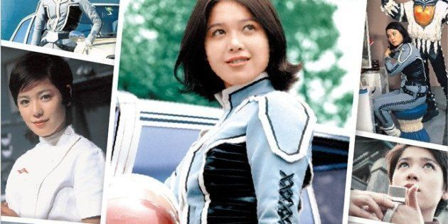 アンヌ隊員を演じる女優・ひし美ゆり子さん。「アンヌ今昔物語」(小学館)より