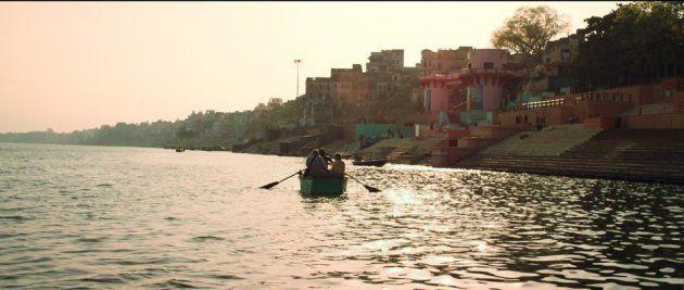 映画の中のガンジス河
