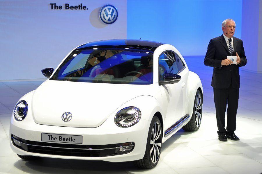2011年に上海モーターショーで発表された「ザ・ビートル」