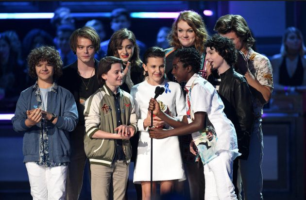 'Stranger Things' cast in Los Angeles,
