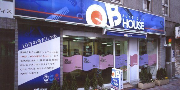 人気を集めている低価格の理髪店「キュービーハウス」。カット専門の徹底的なコスト削減で低価格を追求している