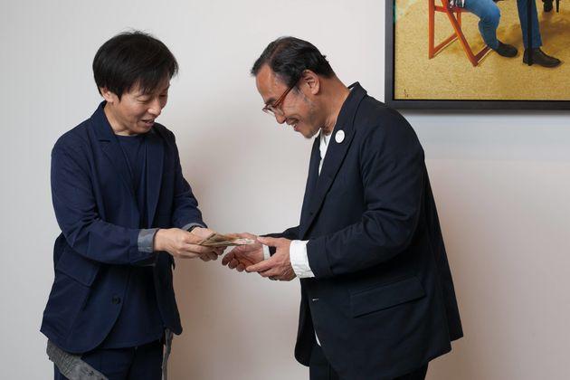 ちなみに今回の企画にかかった費用◯十万円は、青野のポケットマネーで全額お支払となりました。「現金で受け取ることなんてなかなかないですよね。複業っていいですねえ(笑)。」と話す遠山社長が印象的でした。