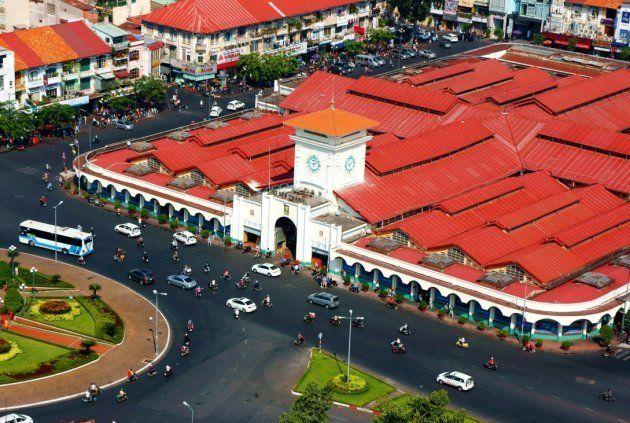 ベトナムで最も忙しい都市、ホーチミン