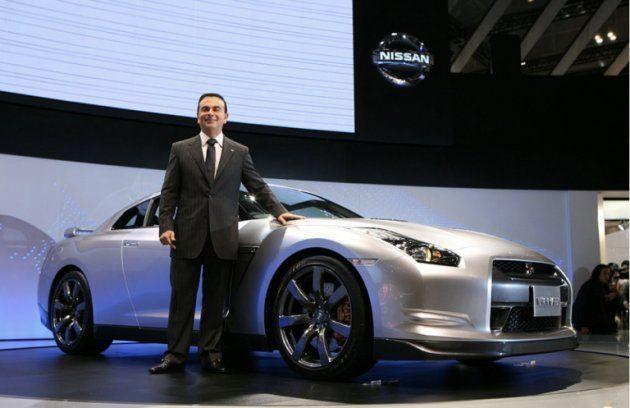 カルロス・ゴーン 2007年東京モーターショー 出典)Nissan Motor Co., Ltd. (Public