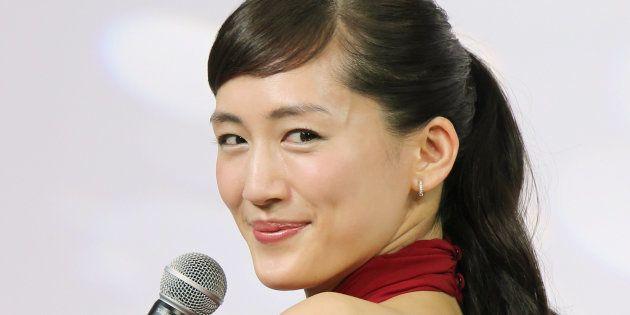 女優の綾瀬はるかさん=2015年7月