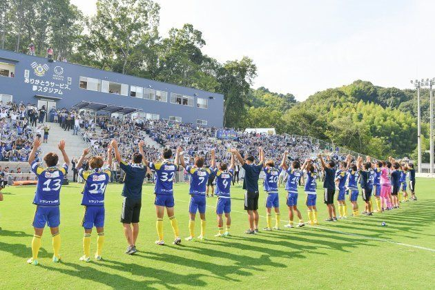 『FC今治』はJ3昇格に向けて、5期目を走り抜ける。その先に目指すのは「川崎フロンターレ」「鹿島アントラーズ」などが名を連ねるJ1リーグだ。
