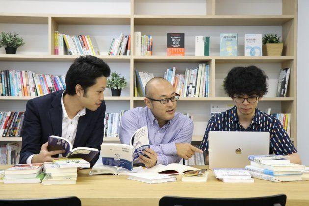 入社後活躍研究所、研究員|前田、千葉、吉村