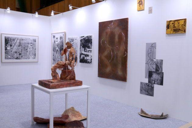 武蔵野美術大学のブース