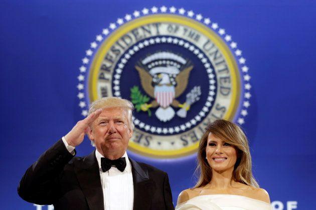 大統領に就任したドナルド・トランプ氏(2017年1月20日撮影)