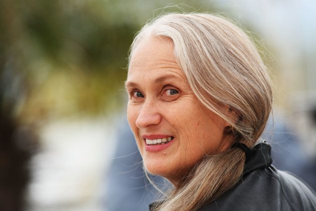 CANNES, FRANCE - MAY 15: Director Jane Campion attends the Bright Star Photocall held at the Palais Des...