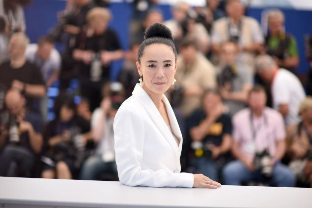 CANNES, FRANCE - MAY 19: Naomi Kawase attends the Jury De La Cinefondation & Des Courts Metrages Photocall...
