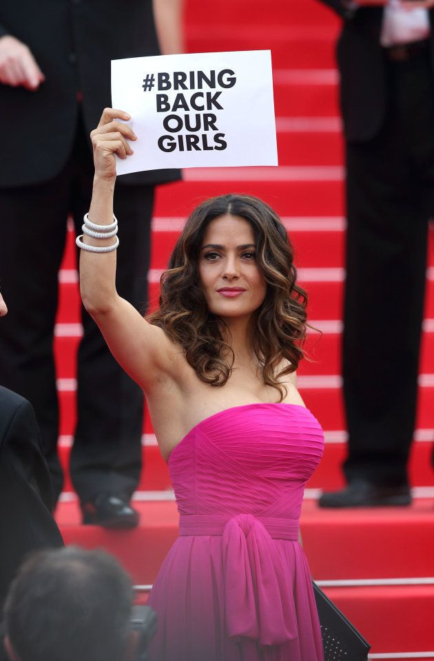 CANNES, FRANCE - MAY 17: Salma Hayek attends the