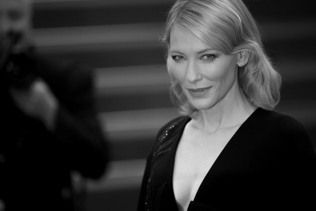 CANNES, FRANCE - MAY 23: An alternative view of Cate Blanchett during the 68th annual Cannes Film Festival...