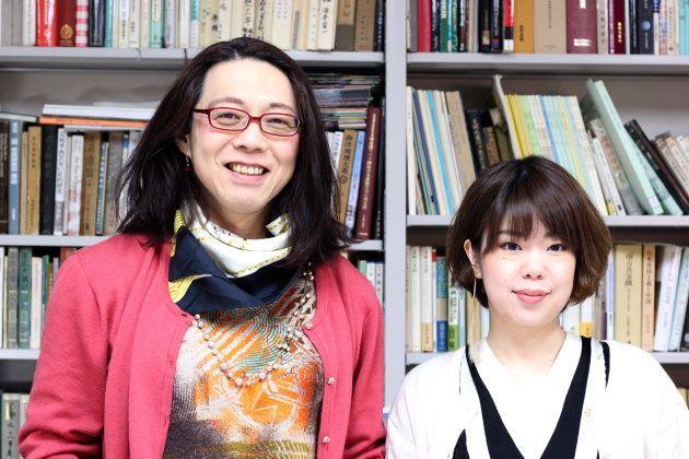 安冨歩さん、松村智世さん。