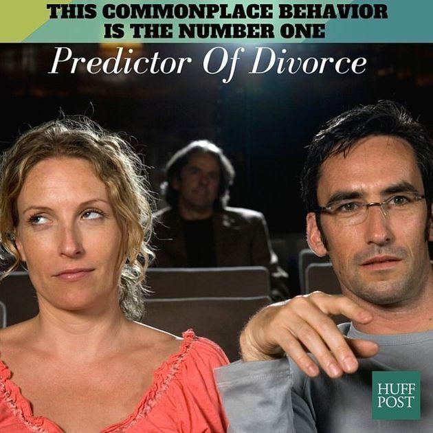 離婚の前兆?