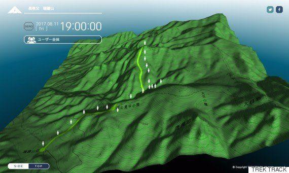 山での遭難が増えている。携帯が圏外でも、登山者の位置情報を確認できるデバイスが完成した。
