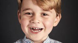 ジョージ王子、4歳の誕生日おめでとう。とびきりの笑顔が届きました♡