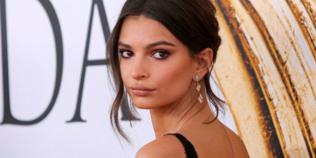Actress and model Emily Ratajkowski arrives for the 2016 CFDA Fashion Awards in Manhattan, New York,...