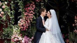 ミランダ・カーがとっても幸せそう。純白のウェディングドレスに秘められた物語