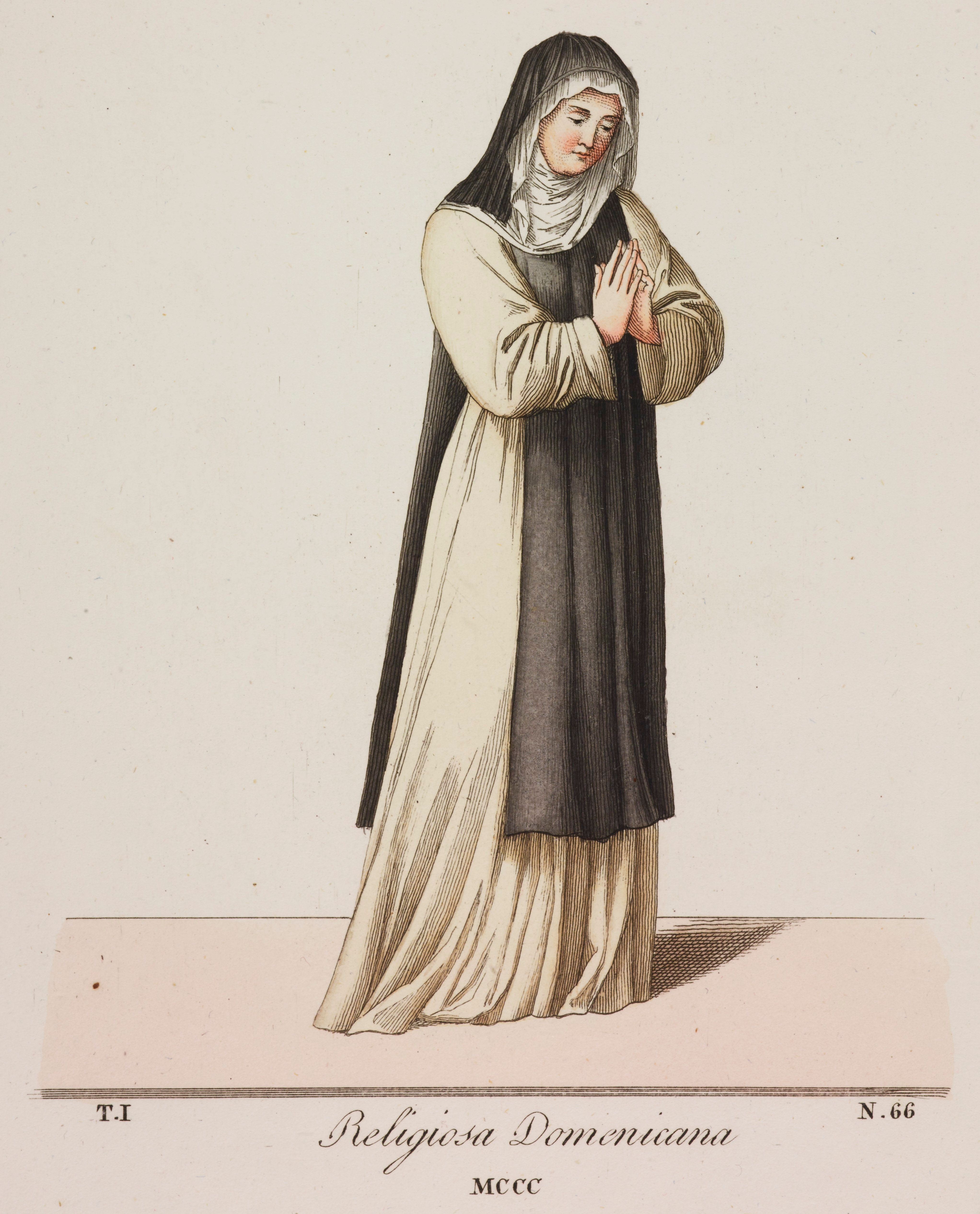 The 14th-century Dominican nun is depicted in this painting. Joan of Leeds was a