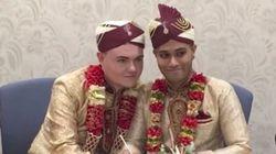 「イスラム教徒も同性婚できると伝えたい」孤立を乗り越え、ゲイの男性が結婚式を挙げる